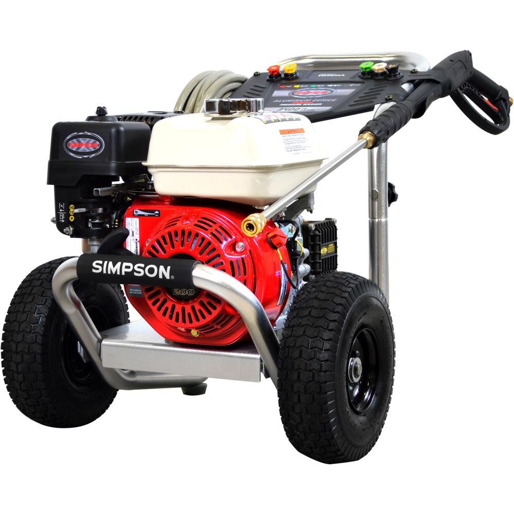 Simpson Power Washer #ALH3425-S 3400PSI 2 5GPM GX Honda Engine NO SHIPPING